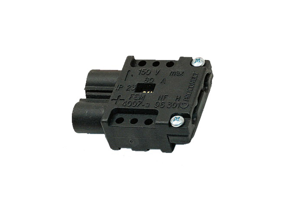 Complete connector NF80 Female